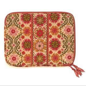 Vera Bradley Laptop Sleeve, Folkloric